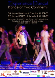 Experience Dance Poster