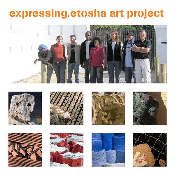expressing.etosha art project