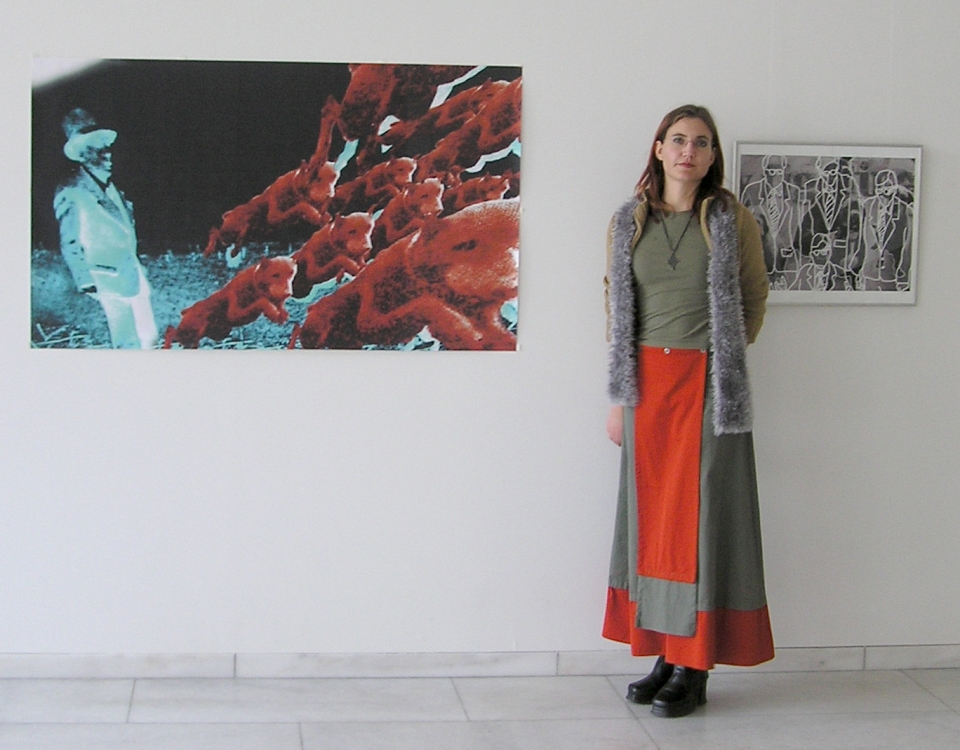 Imke's exhibition at Bremer Haus der Buergerschaft