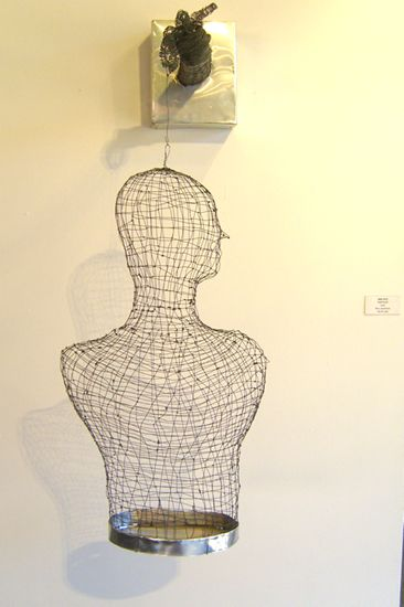 Wire Torso (front view)