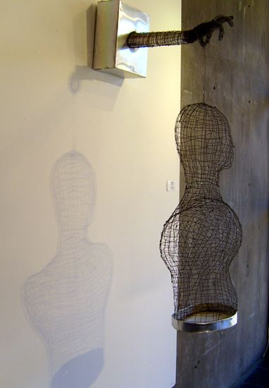 Wire Torso (side view)