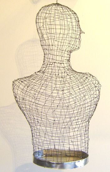 Wire Torso (close-up)
