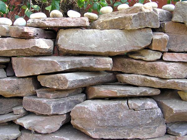 Stone Wall (Detail)