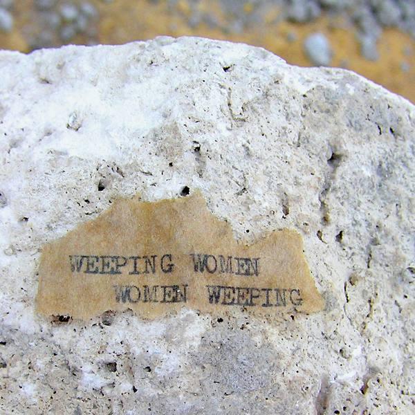 Weeping Women 2007 (Detail)