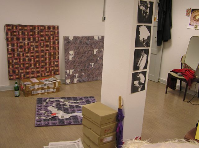 View of the studio