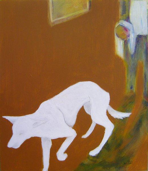 The Dream 1 (white dog)