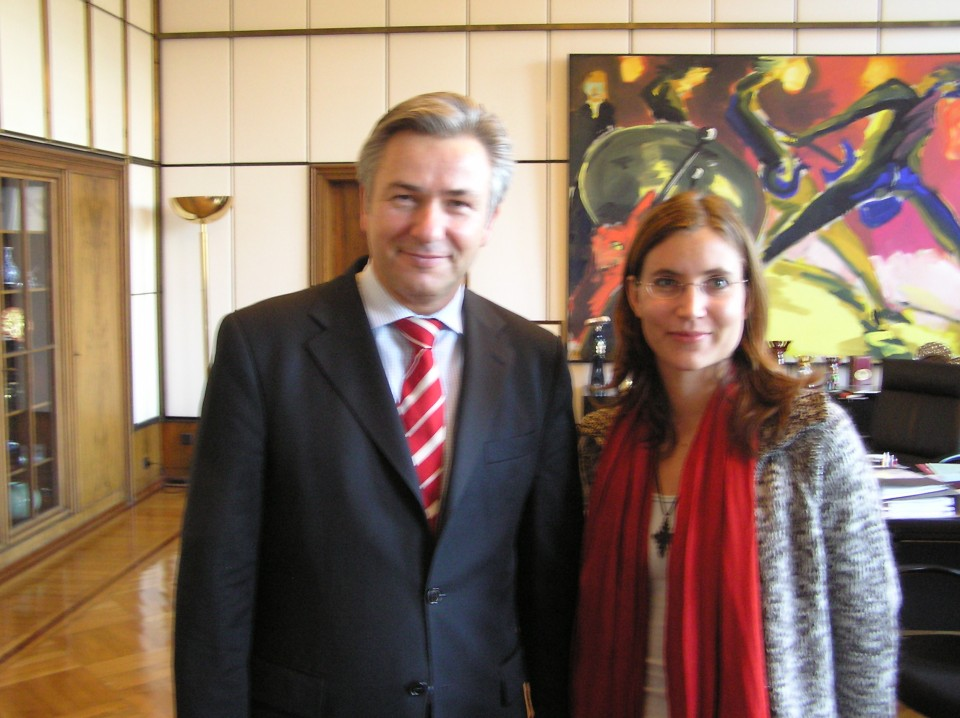 Meeting with the Mayor of Berlin, Mr Klaus Wowereit