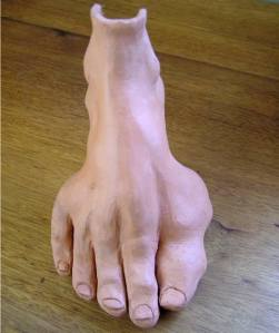 Clay Foot front view (IRust)