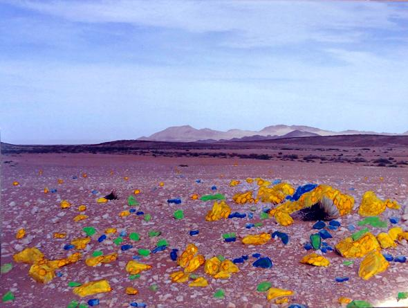 Chemical Reaction (Namib Desert) © Imke Rust