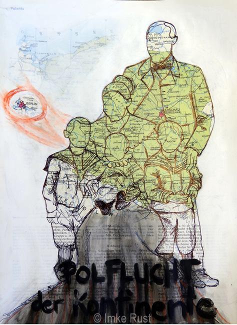 Polflucht der Kontinente by Imke Rust