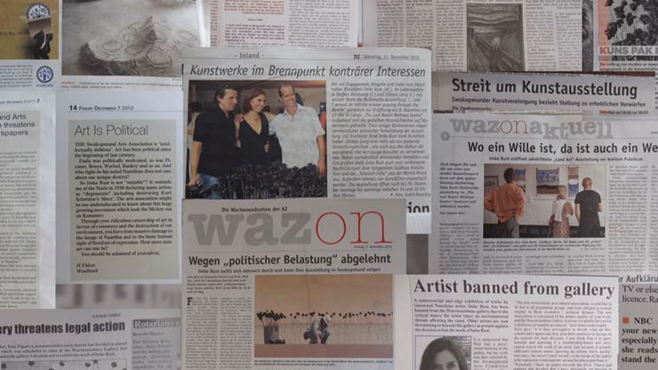 The exhibition in the printed media