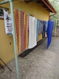 Raindrops on my washing
