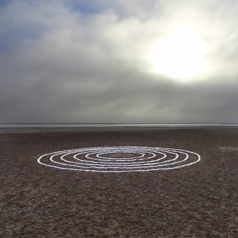 Salt Circles - Thick Clouds(Available as digital print. Printed on premium photography paper or AluDibond)