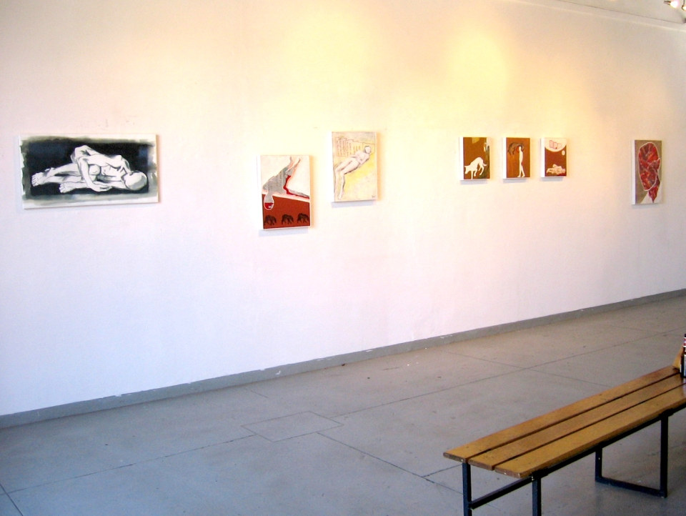 Exhibition View, Studio 77 'New Works' 2010