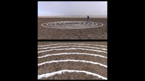 Walking in Circles - Art video / Performance