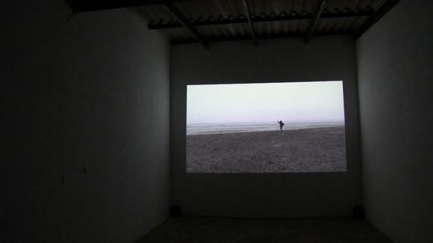 Sowing Salt (Video Installation, Swakopmund 2012)