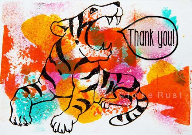 Tiger Thank you