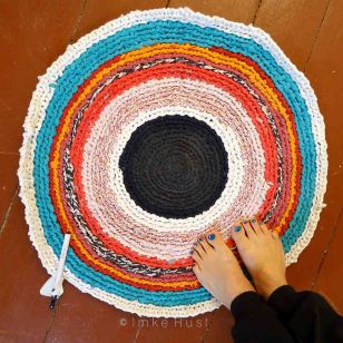 Second carpet (in progress) © Imke Rust
