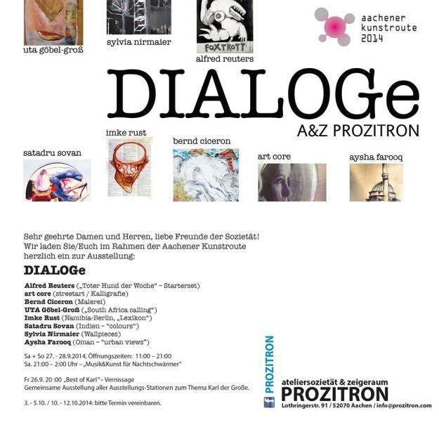 DIALOGe art exhibition Aachener Kunstroute 2014