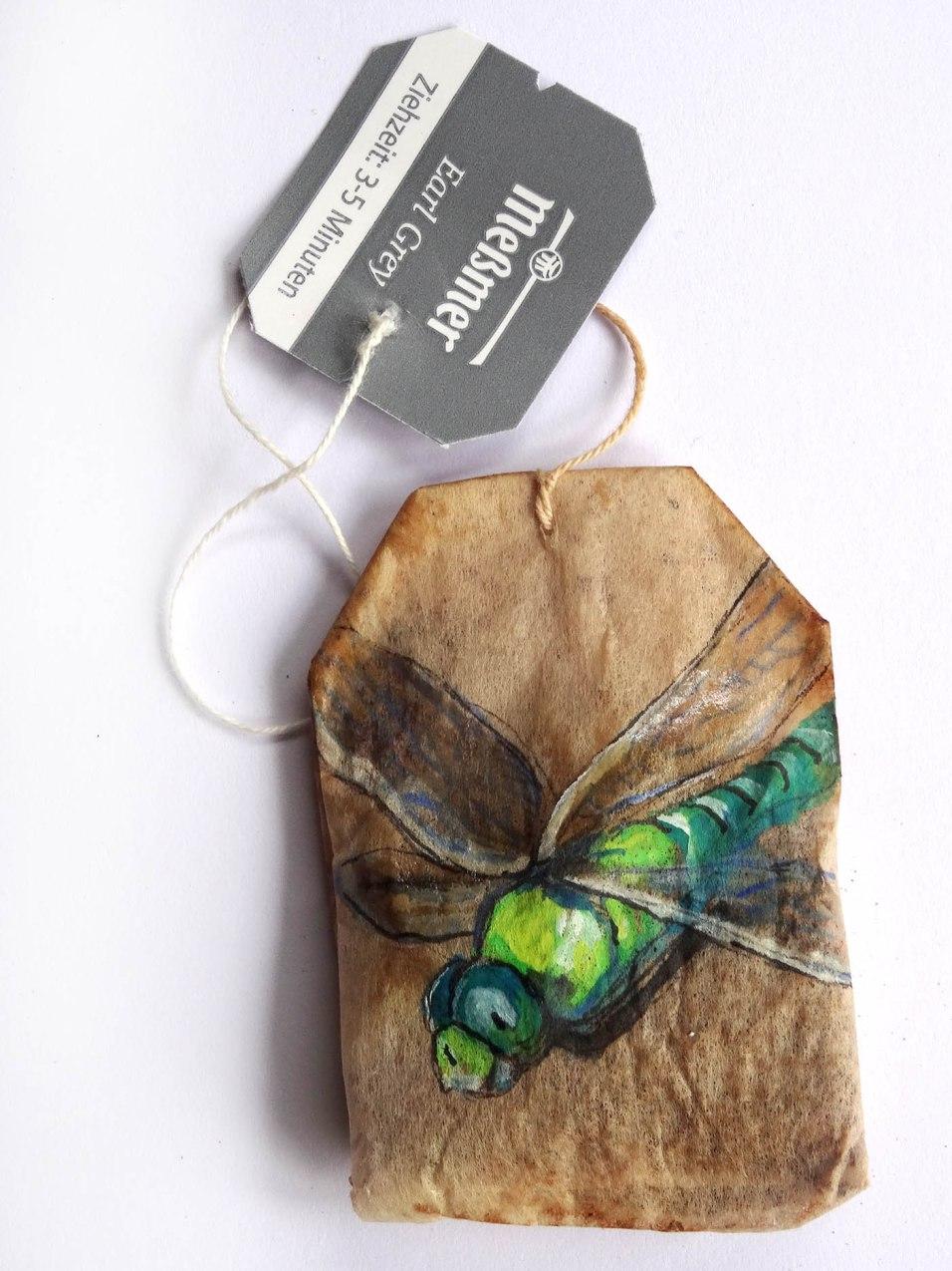 Dragonfly Teabag Totem