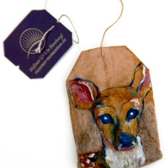 Teabag Totem Series (Deer)