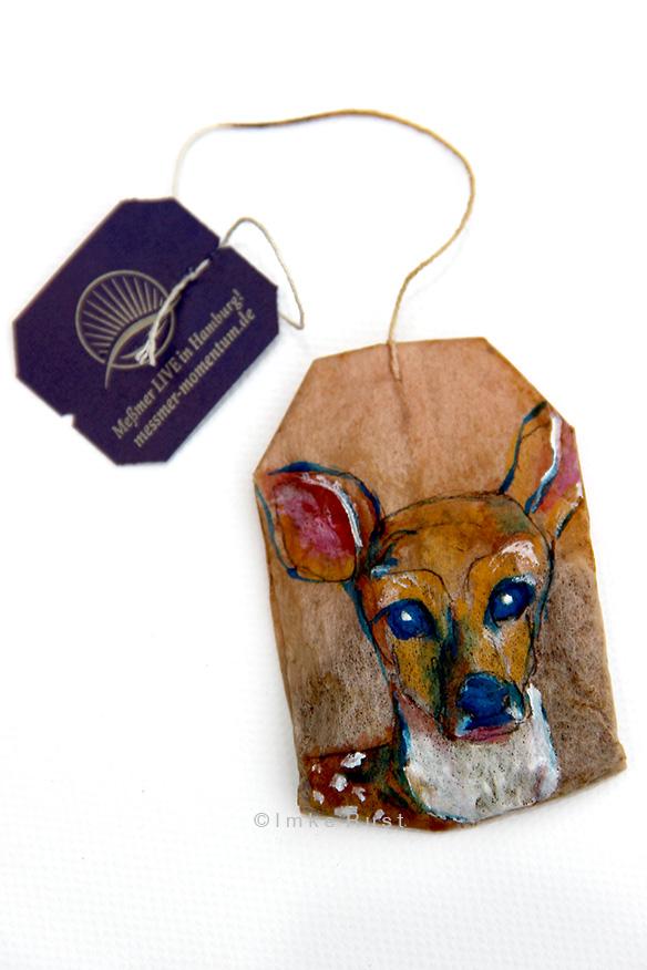 Teabag Totem Series (Deer)