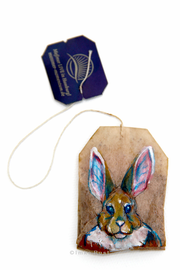 Teabag Totem Series (Rabit)