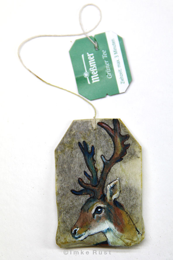 Teabag Totem Series (Deer/Elk)