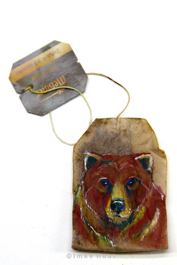 Teabag Totem Series (Bear)