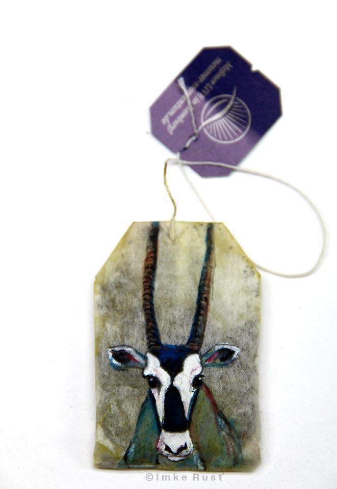 Teabag Totem Series (Oryx)