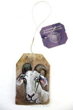 Teabag Totem Series (Goat)