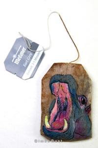 Teabag Totem Series (Hippo)