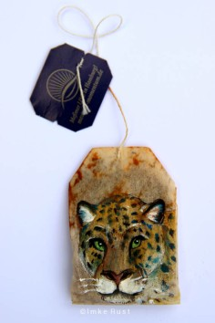 (Sold) Teabag Totem Series (Jaguar)