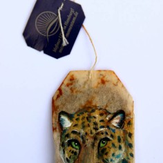 (Sold) Teabag Totem Series (Jaguar)