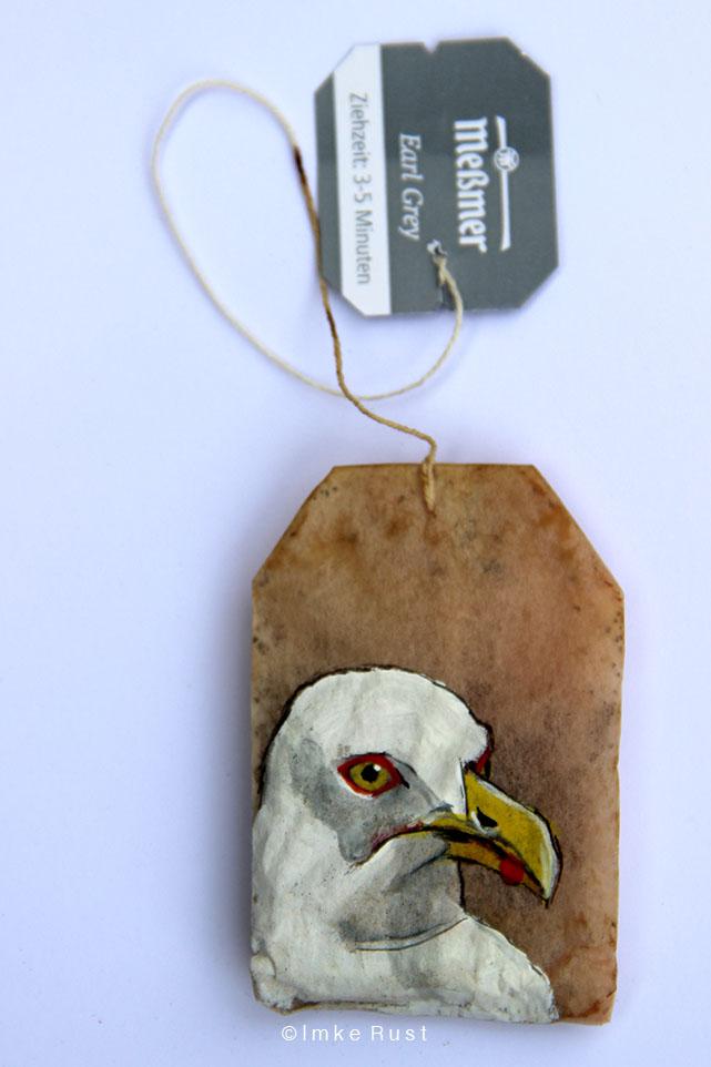 Teabag Totem Series (Seagull)