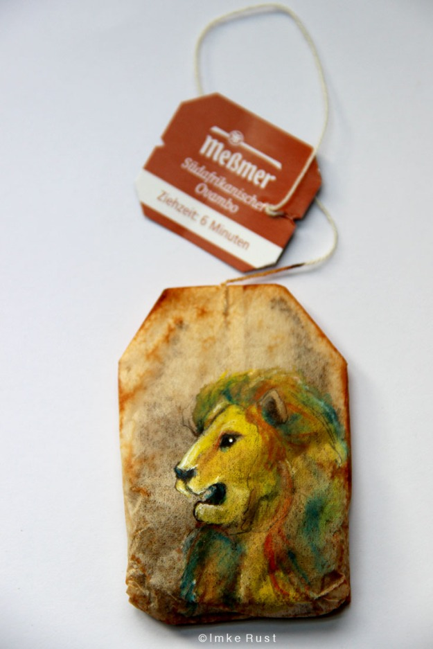 Teabag Totem Series (Lion)