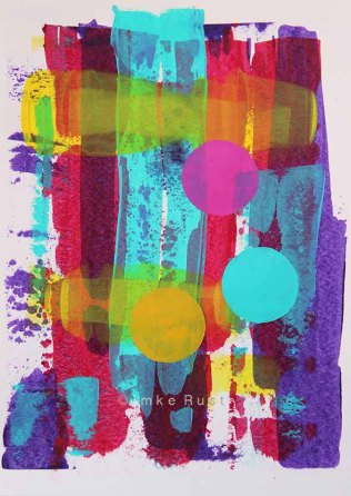 Abstract Work by Imke Rust