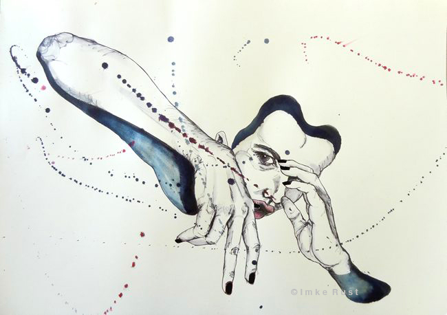 Untitled Ink on paper, 42 x 60cm each 2013