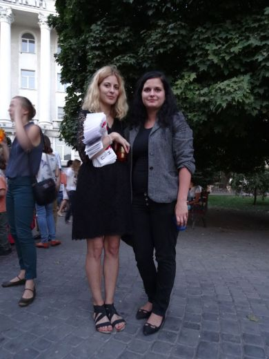 Nastia (left) with her sister