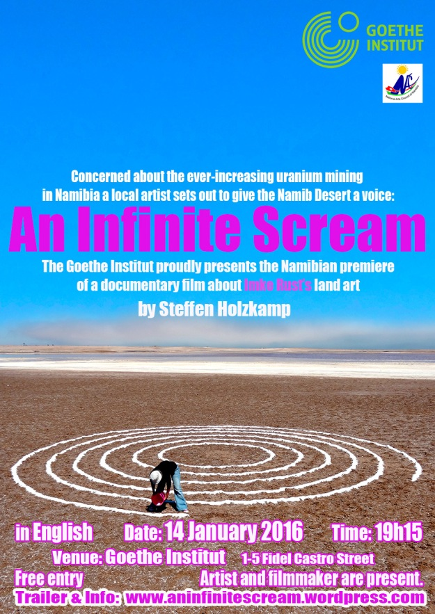 Namibia Premiere: An Infinite Scream (Poster)