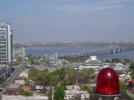 Overlooking Dnipropetovsk