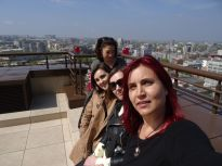 With Sasha Bondarchuk,Iryna Polikarchuk and Sabina Shikilinskaja.