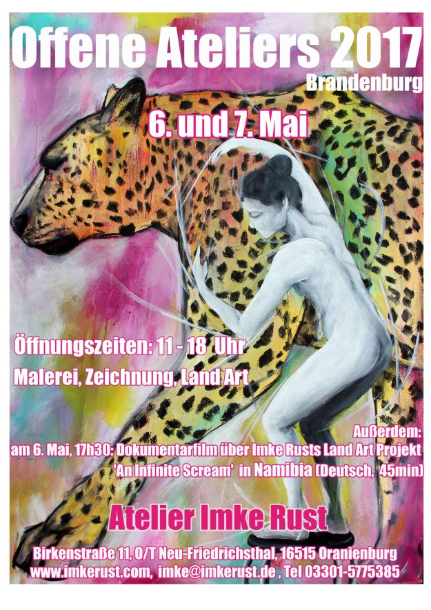 Offene Ateliers Brandenburg 2017 Imke Rust