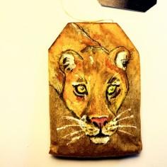 Lioness (Teabag Totem)