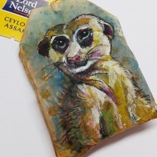 Teabag Totem Suricate / Meerkat (Sold)