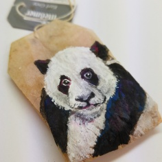 Teabag Totem Panda
