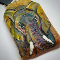Teabag Totem Elephant