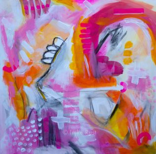 Untitled, Acrylic on Canvas, 50x50cm