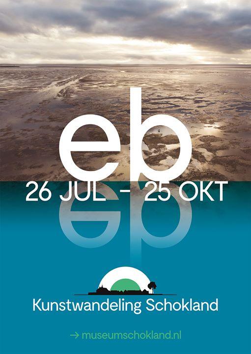 Kunstwandeling EB | Art walk EB   MUSEUM SCHOKLAND  26 Juli - 26 Oktober 2020 (Poster)